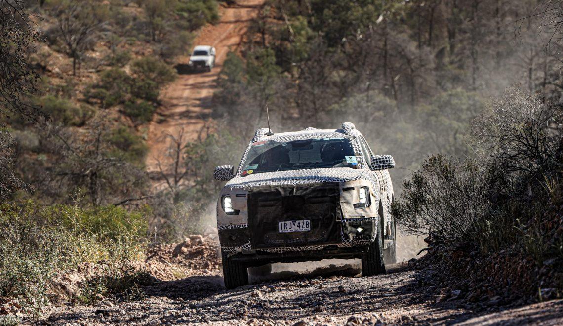 Ekstremalne testy: Ranger nowej generacji przechodzi katorgę w drodze do klientów
